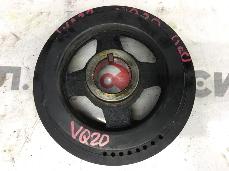 Шкив коленвала Nissan Cefiro WA32 VQ20 1999 (б/у)
