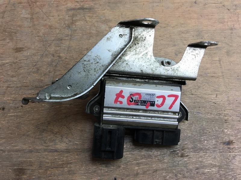 Блок управления форсунками Toyota Land Cruiser UZJ200 2UZ 2007 43 ящик. (б/у)