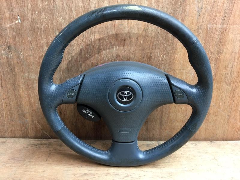 Руль Toyota Funcargo NCP21 1NZ 2000 Продается в сборе с подушкой безопасности, без (б/у)