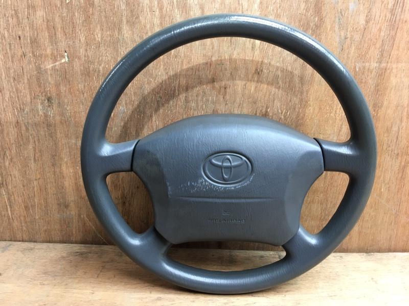 Руль Toyota Land Cruiser Prado KZJ90 1KZ 1998 Продается в сборе с подушкой безопасности, без (б/у)