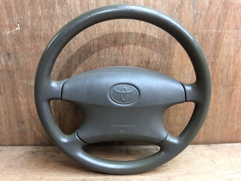 Руль Toyota Corolla Fielder NZE121 1NZ 2001 Продается в сборе с подушкой безопасности, без (б/у)