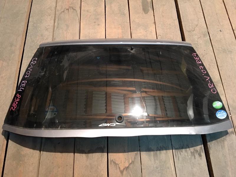 Стекло заднее Honda Cr-V RE4 K24A 2007 89082 (б/у)