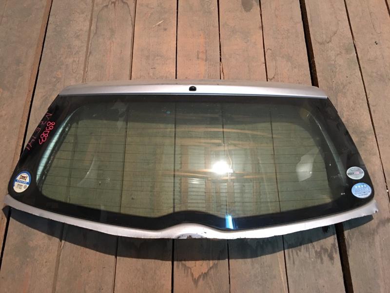 Стекло заднее Toyota Corolla Fielder NZE141 1NZ 2006 89083 (б/у)