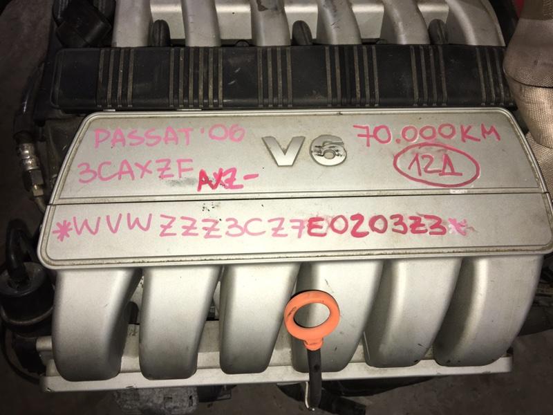 Двигатель Volkswagen Passat 3CAXZF AXZ 2006 Контрактный двигатель в отличном состоянии. Без  (б/у)
