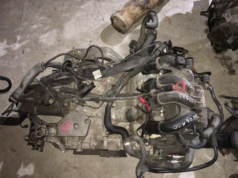 Двигатель Mercedes-Benz A-Class W168 M166E16 2003 Контрактный двигатель в отличном состоянии. (б/у)