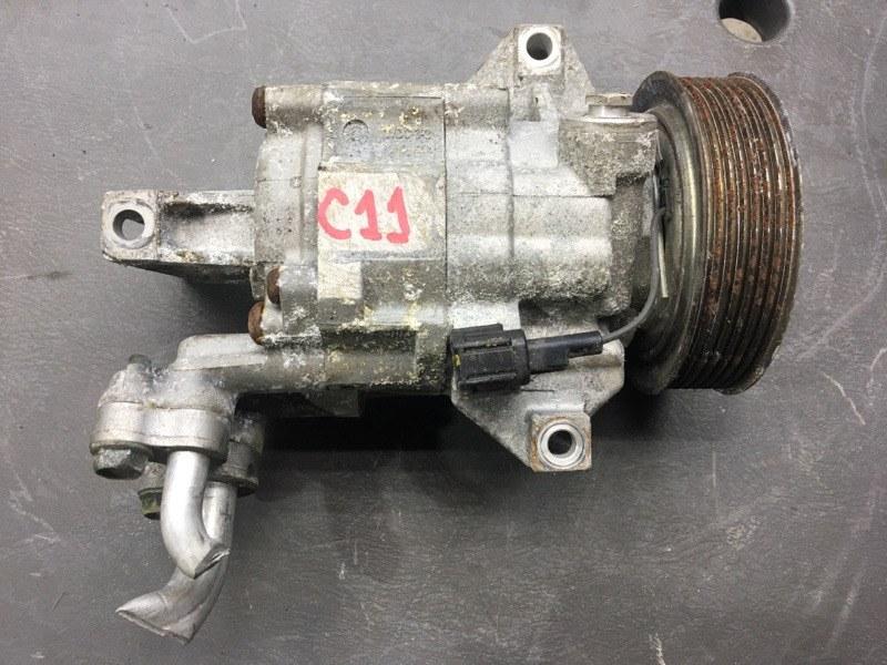 Компрессор кондиционера Nissan Tiida C11 HR15 2010 89094 (б/у)