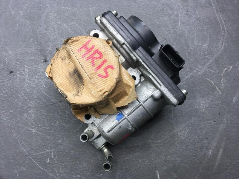Заслонка дроссельная Nissan Tiida C11 HR15 2008 89096 (б/у)