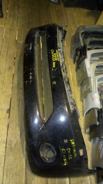Бампер Infiniti Qx56 передний