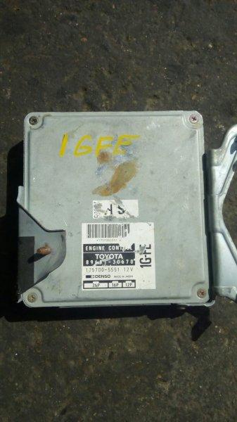 Блок управления двс Toyota 1GFE