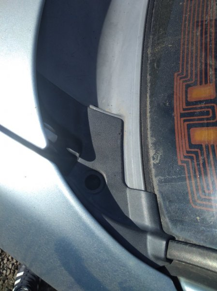 Уголок жабо Subaru Forester SG EJ202 левый