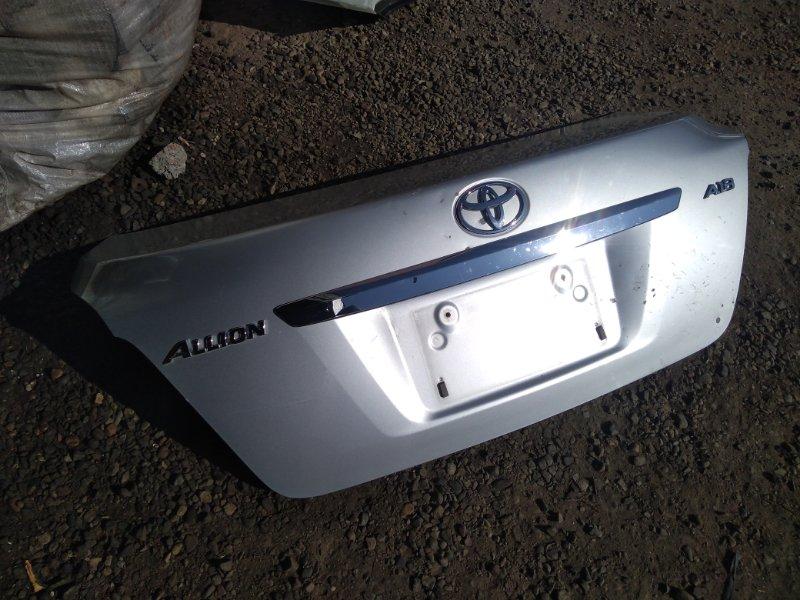 Крышка багажника Toyota Allion NZT260 1NZFE