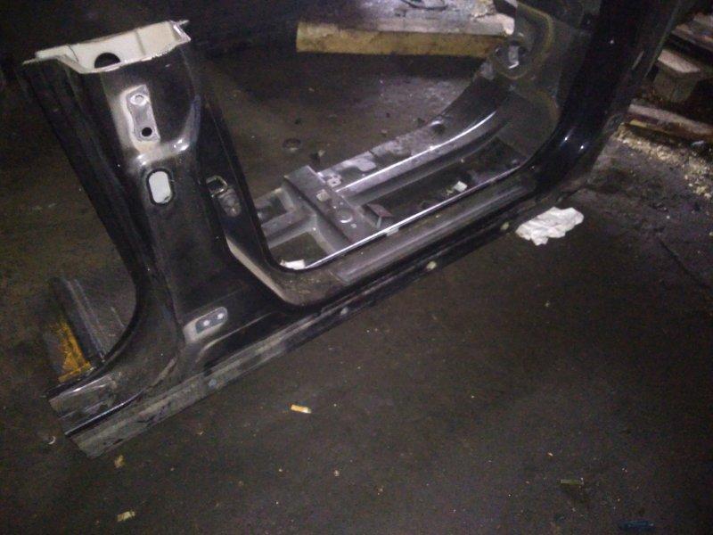 Порог кузовной Nissan Tiida C11 HR15DE правый