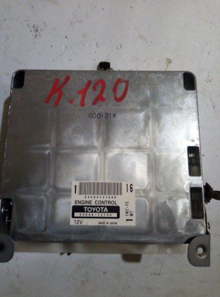 Блок управления двс Toyota Allex NZE120 1NZFE