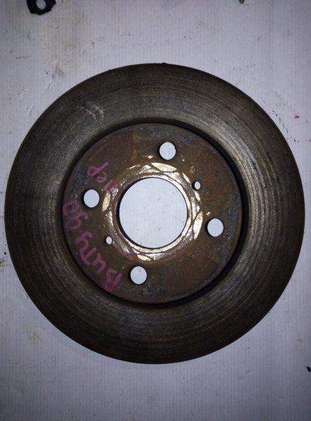 Диск тормозной передний Toyota Vitz KSP90 1KRFE 2009 передний