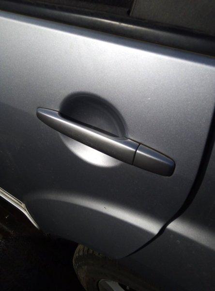 Ручка двери Mitsubishi Outlander CW4W 4B12 2008 задняя левая