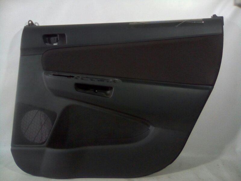 Обшивка двери Toyota Wish ZNE10 1ZZFE 2003 задняя правая