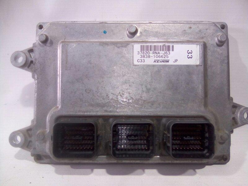 Блок управления двс Honda Civic FD1 R18A 2008