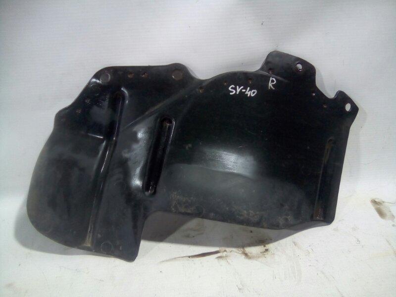 Защита двигателя Toyota Camry SV40 3SFE правая