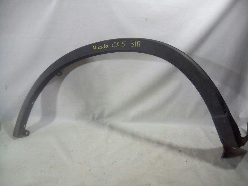 Накладка на крыло Mazda Cx5 задняя правая