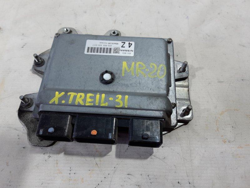 Блок управления двс Nissan X-Trail NT31 MR20DE 2008