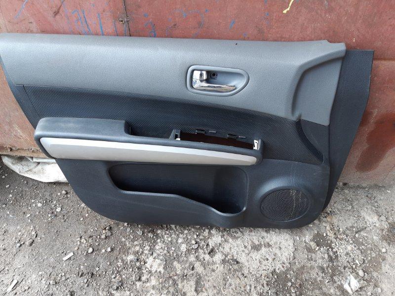 Обшивка двери Nissan X-Trail NT31 MR20DE передняя левая