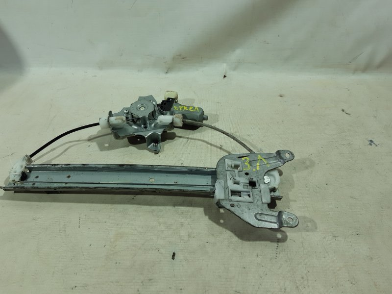 Стеклоподъемник Nissan X-Trail NT31 MR20DE задний левый