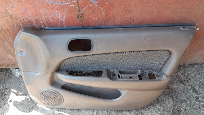Обшивка двери Toyota Sprinter AE110 4AFE передняя правая