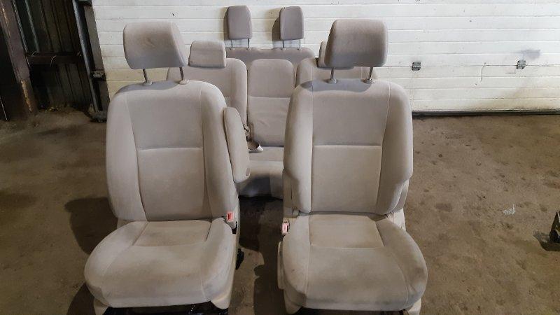 Сиденье Toyota Corolla Spacio NZE121N 1ZZFE 2002
