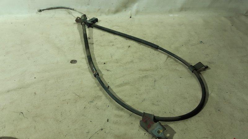 Тросик ручника Toyota Vitz KSP90 1KRFE 2008 правый