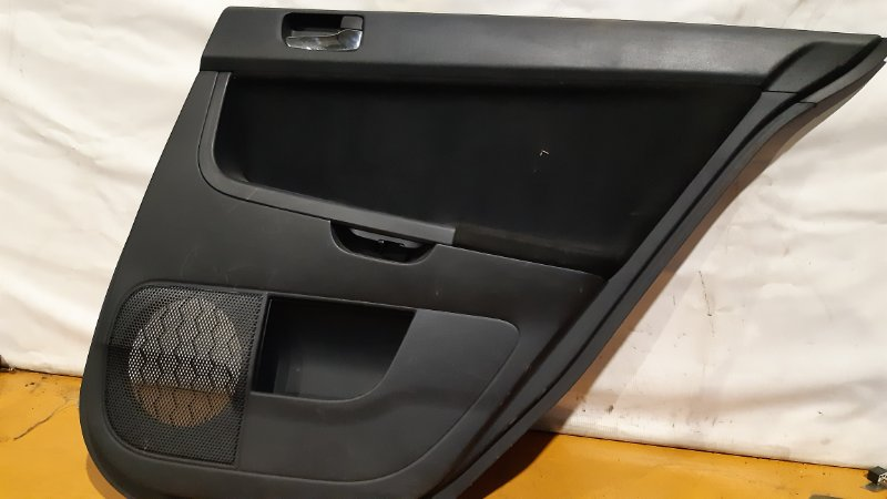 Обшивка двери Mitsubishi Lancer CX3A 4B10 2008 задняя правая
