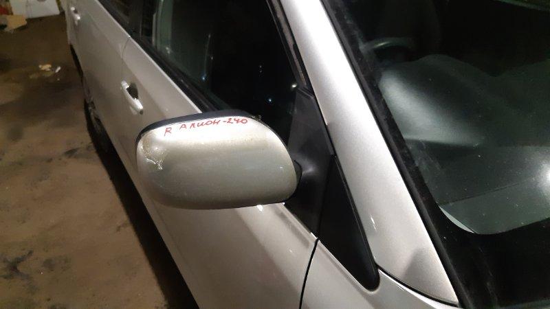 Зеркало Toyota Allion AZT240 1NZFE 2002 правое