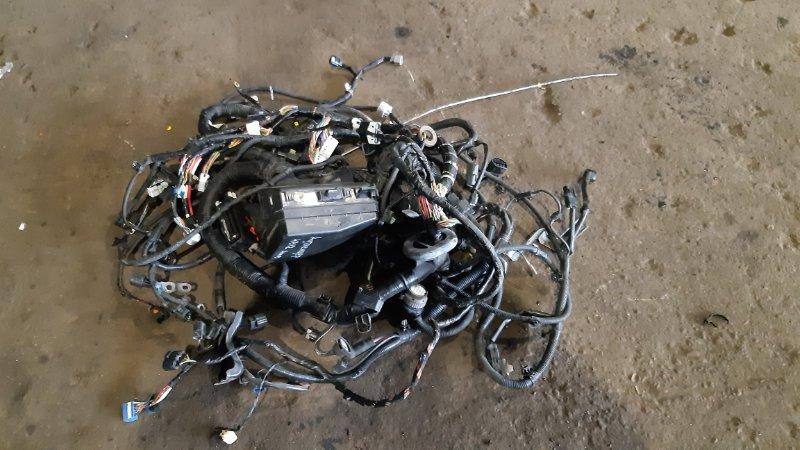 Проводка подкапотная Mitsubishi Outlander CW4W 4B12 2007