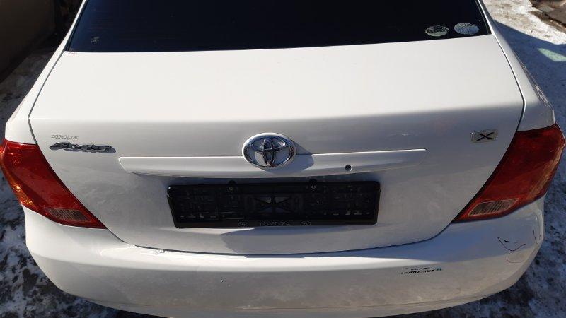 Крышка багажника Toyota Corolla Axio NZE141 1NZFE 2008