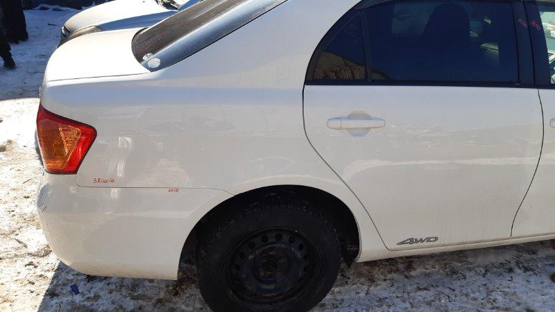 Крыло Toyota Corolla Axio NZE141 1NZFE 2008 заднее правое