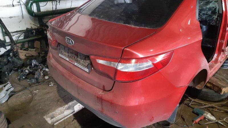 Задняя часть автомобиля Kia Rio QB D3FA 2014