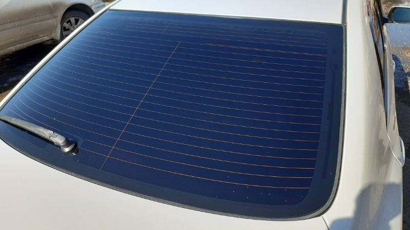 Стекло заднее Toyota Allion NZT260 1NZFE 2008