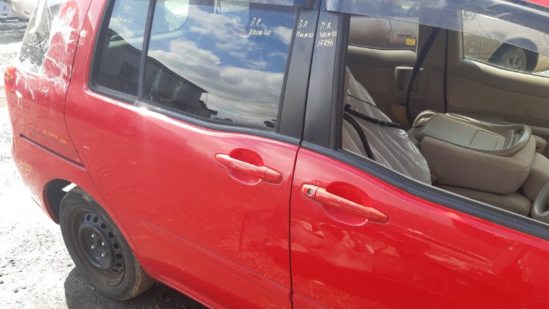 Дверь боковая Toyota Raum NCA25 1NZFE 2003 задняя правая
