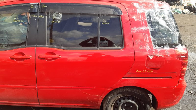 Дверь боковая Toyota Raum NCA25 1NZFE 2003 задняя левая