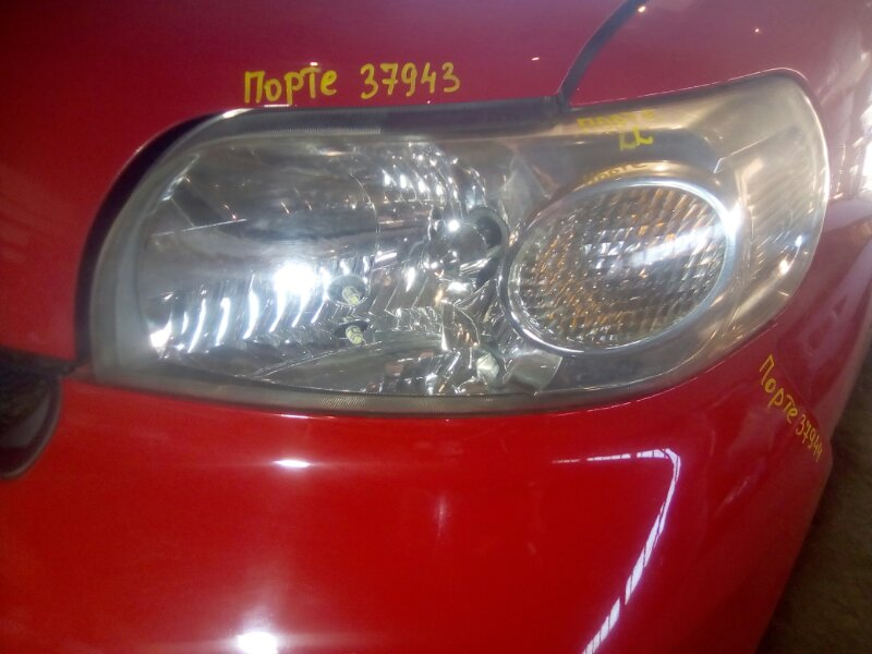 Фара Toyota Porte NNP10 1NZFE 2002 левая