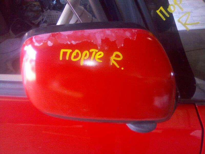 Зеркало Toyota Porte NNP10 1NZFE 2002 правое