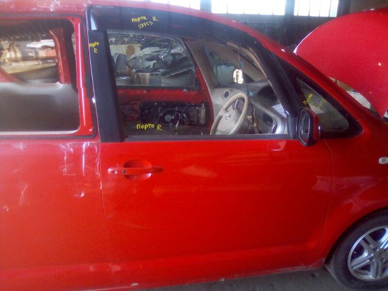 Дверь боковая Toyota Porte NNP10 1NZFE 2002 правая