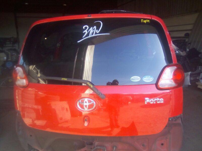 Дверь-5 Toyota Porte NNP10 1NZFE 2002