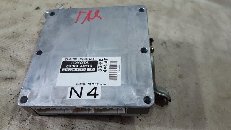 Блок управления двс Toyota Gaia SXM15 3SFE 2001