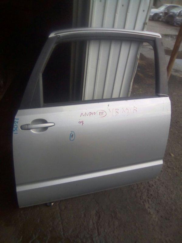Дверь боковая Toyota Porte NNP10 1NZFE левая