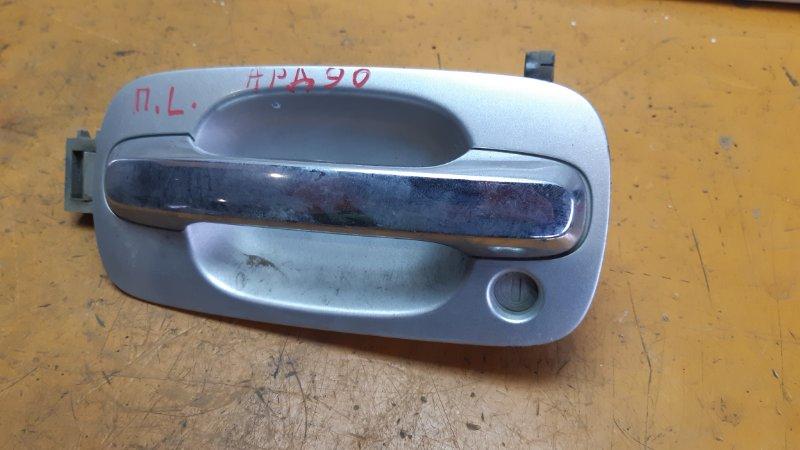 Ручка двери Toyota Vista Ardeo AZV50G 1AZFSE передняя левая
