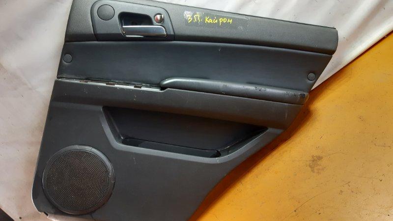 Обшивка двери Ssangyong Kyron задняя правая