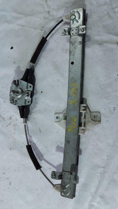 Стеклоподъемник Hyundai Solaris QB задний правый