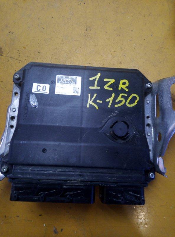 Блок управления двс Toyota Corolla ADE150 1ADFTV 2007