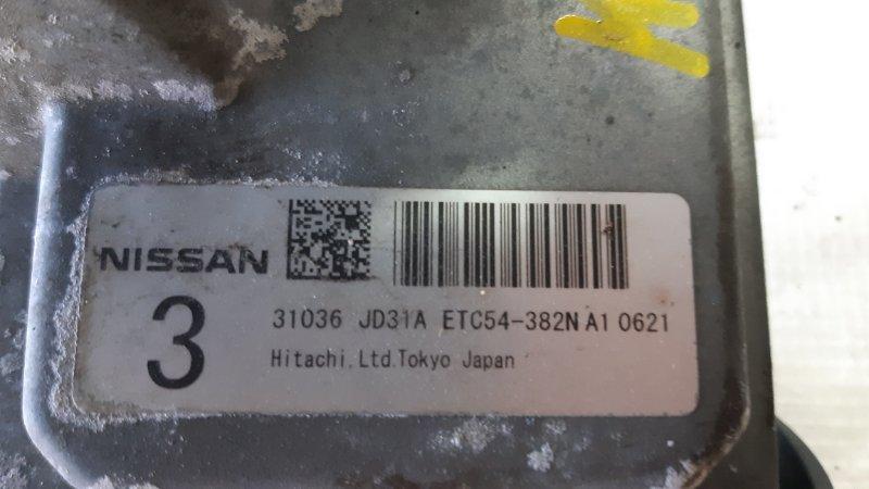 Блок управления двс Nissan Dualis J10 MR20DE 2008