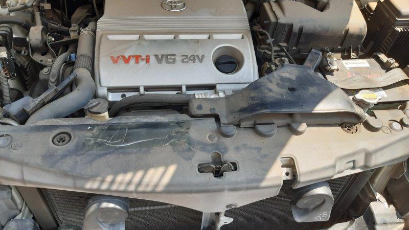 Накладка на телевизор Toyota Harrier ACU30 1MZFE 2003
